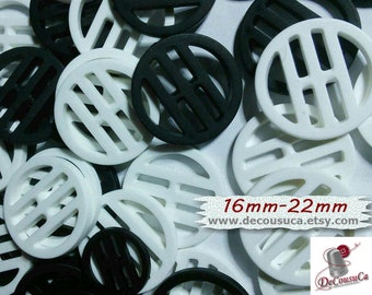 "6 buttons, 16mm, (5/8""), 22mm, (7/8""), White, Red, Blue, vintage, PA01, (Reg 3.60)"