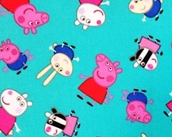 Peppa Pig, Springs Creatives, CP60970, 100% Cotton, quilt cotton