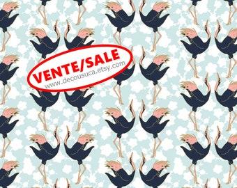 SALE, Birds, 29180202, col 02, Mistic Cranes, Camelot Fabric, quilt cotton, (Reg 3.76-21.91)