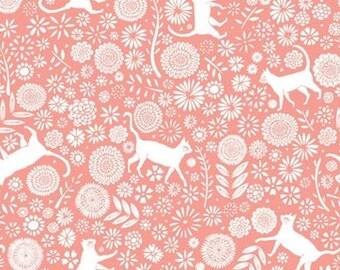Cat, Flower, Urban Jungle, 30180201, Camelot Fabrics, cotton, cotton quilt, cotton designer