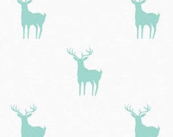 END OF BOLT, Meadow, Deer, 2144103, Camelot Fabrics, 100% Cotton