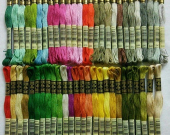 DMC, 561-740, Embroidery, thread, DMC, Mouliné 25, art 117 No. 25, 8 meters each skein, cotton