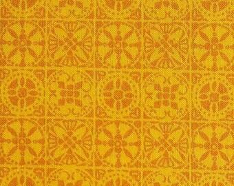 Tile, orange, 66180205, col 04, Autumn Impressions, Camelot Fabrics, cotton, cotton quilt, cotton designer