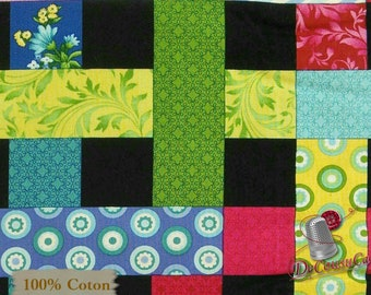 Quilt, Botanica Blossoms, 8936, Henry Glass & Co, multiple quantity cut in 1 piece, 100% Cotton