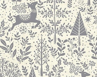 Fabric, Cotton, Scandi, Makower, 2216, Andover