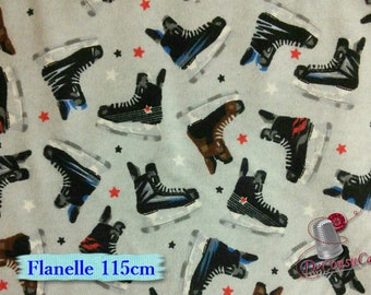Flannel, Skate, many yards will be cut as one piece, Flannel 100% high quality cotton