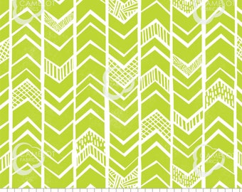 Chevrons, lime, Mod Blocks, 27180110, col 04, Camelot Fabrics, 100% Cotton, quilt cotton, (Reg 2.99-17.99)