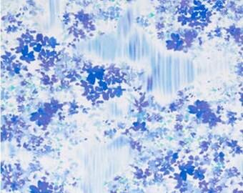Flower, Color Calypso, Kanvas, Benartex, Style 08838, col 50, cotton, cotton quilt, cotton designer