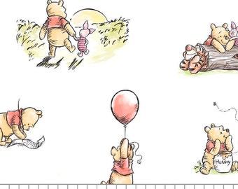 Winnie The Pooh, 85430501, col 01, Camelot Fabrics, cotton, cotton quilt, cotton designer