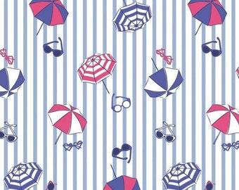 Parasol, sunglasses, Summer Days, Laura Ashley, 71190303, col 02, Camelot Fabrics, cotton, cotton quilt, cotton designer