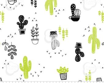 Cacti, Mod Blocks, 27180104, Camelot Fabrics, 100% Cotton, (Reg 5.29 -22.95)