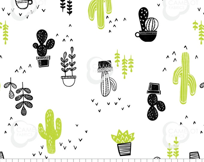 Featured listing image: Cacti, Mod Blocks, 27180104, Camelot Fabrics, 100% Cotton, (Reg 5.29 -22.95)
