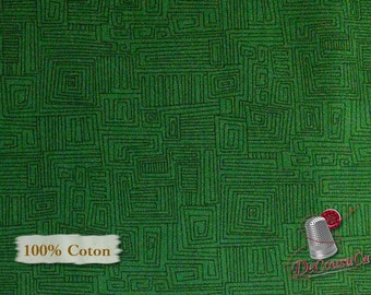 Green, Bear Essentials 3, P & B Textiles, multiple quantity cut in one piece, 100% Cotton, (Reg 2.39-17.29)