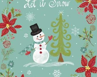 "Panel, 24""X44"", Snowman - Snowed In de Riley Blake Designs"