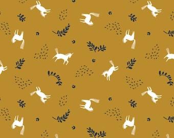 Skogen horse toss, 21170605, col 01, Skogen, Camelot Fabrics, 100% Cotton