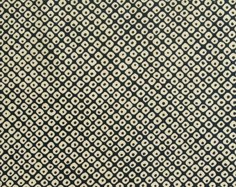 Beige, navy background, Sakura, 16029, Sevenberry, cotton, cotton quilt, cotton designer