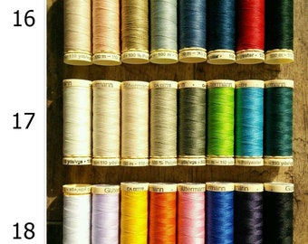 Kit 8 Threads Gütermann, 100 meters, 100% polyester, quality # 1,