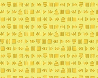 Yellow, 27180406, Retro Blast, Camelot Fabrics, cotton, cotton quilt, cotton designer