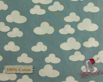 Cloud, by French Bull, Windham Fabric, multiple quantity cut in one piece, 100% Cotton