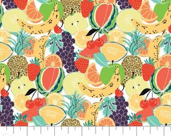 Fruit Salad, Feeling' Fruity, 30200201, col 01, Camelot Fabrics, 100% Cotton, (Reg 3.76-21.91)