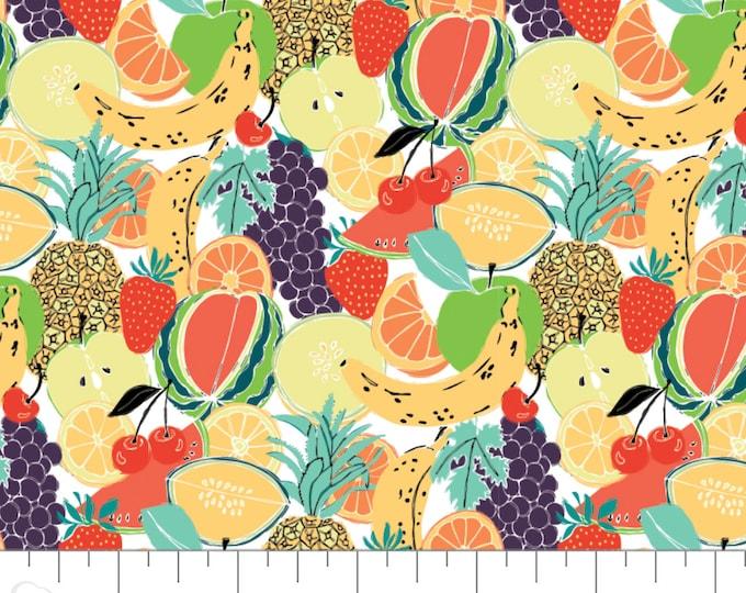 Featured listing image: Fruit Salad, Feeling' Fruity, 30200201, col 01, Camelot Fabrics, 100% Cotton, (Reg 3.76-21.91)