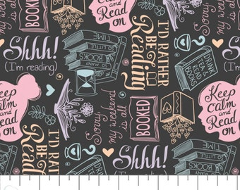 END OF BOLT, Literary, 21190524, col 01, Camelot Fabrics, Camelot Fabrics, 100% Cotton