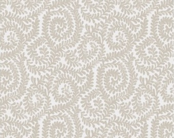 Berkeley scroll, beige, Wisteria, Laura Ashley, 71170704, col 03, Camelot Fabrics, 100% Cotton
