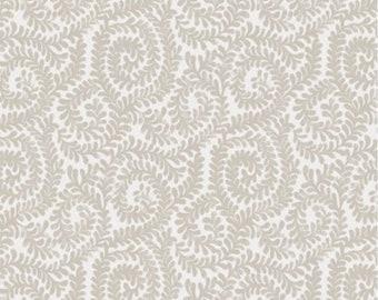 Berkeley scroll, beige, Wisteria, Laura Ashley, 71170704, col 03, Camelot Fabrics, 100% Cotton, (Reg 2.99-17.99)