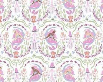 Mermaid, 1423, Dear Stella, cotton, cotton quilt, cotton designer