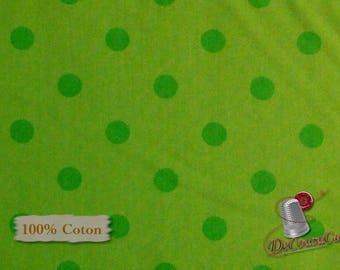 Green, Ta-Da!, by Dana Brooks, Henry Glass & Co, multiple quantity cut in one piece, 100% Cotton, (Reg 2.99-17.99)