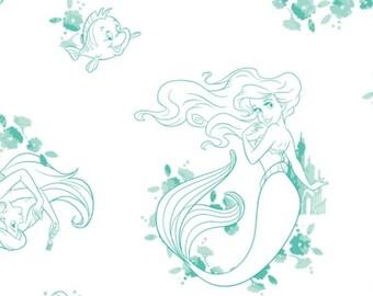 Disney Forever, Ariel, Princess, 85100505, col 01, Camelot Fabrics, cotton, cotton quilt, cotton designer
