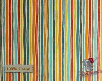 Stripes, Studio e, multiple quantity cut in one piece, 100% Cotton, (Reg 3.99 - 17.99)