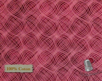 Canneberge, Mesh, P & B Textiles, #26703, multiple quantity cut in one piece, 100% Cotton, (Reg 3.99 - 17.99)
