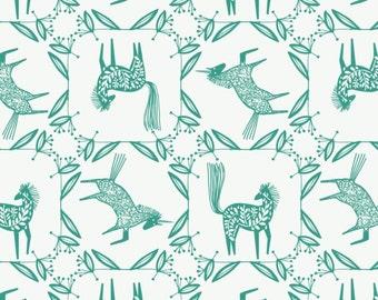Skogen horse frame, 21170604, col 02, Skogen, Camelot Fabrics, 100% Cotton