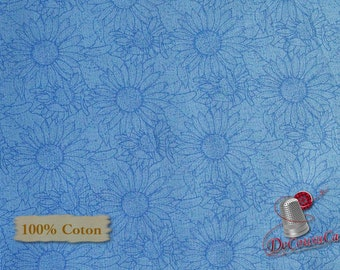 My Sunflower Garden, Henry Glass & Co, 1386, multiple quantity cut in 1 piece, 100% Cotton, (Reg 2.99-17.99)
