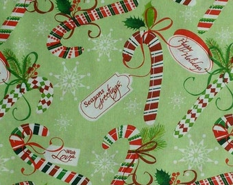 Happy Holidays, With Love, Seasons Greetings, cotton, cotton quilt, cotton designer