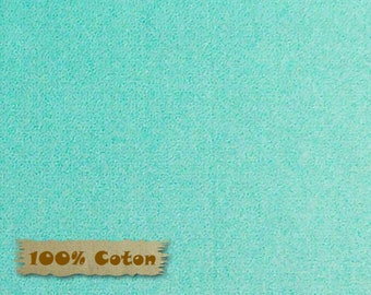 LIGHT TURQUOISE, LTTUR, Crystals, Red Rooster, 26784, 100% Cotton, plain textured, (Reg 2.99-17.99)