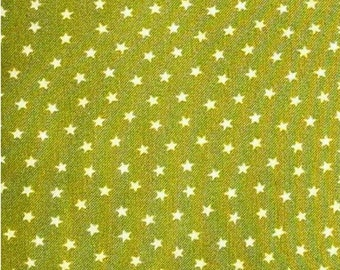 Star, charmeuse green, Andover, 9166, cotton, cotton quilt, cotton designer
