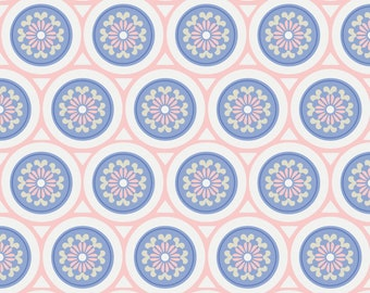 Rose Quartz & Serenity, 4142104, col 01, Camelot Fabrics, multiple quantity cut in one piece, 100% Cotton, (Reg 2.99-17.99)