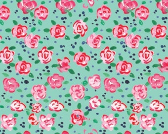 Flower, City Girl, 26180105J, col 03, Camelot Fabrics, 100% Cotton