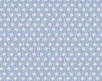 Mini-Flowers, blue, Meadow Wildlife, 30190403, col 04, Camelot Fabrics, cotton quilt, cotton designer
