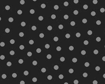 Noir, dot gray, Gray Matters, 26799, P & B Textiles, 100% Cotton