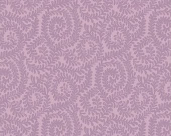 Berkeley scroll, violet, Wisteria, Laura Ashley, 71170704, col 01, Camelot Fabrics, 100% Cotton, (Reg 2.99-17.99)