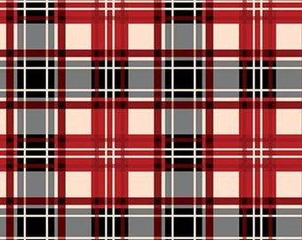 Plaid, Christmas Memories, 8698, Riley Blake, fabric, cotton, quilt cotton
