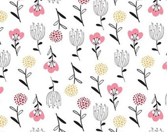 Flower fields, 21181006, col 01, Field of Poppies, Camelot Fabrics, 100% Cotton