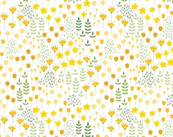 Bright Side, flower, 2240902, col 01,, Camelot Fabrics, multiple quantity cut in 1 piece, 100% Cotton,  (Reg 3.99 - 17.99)