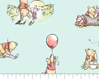 Winnie The Pooh, 85430501, col 02, Camelot Fabrics, cotton, cotton quilt, cotton designer