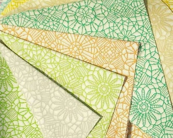 Bundle, Jelly rolls, 9 FE, 9 FQ, and more, Amazing Lace, Quilting Treasures, kit of 9 prints differents,