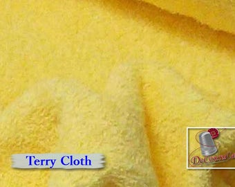 "Corn, Highly absorbent and durable sponge cloth, 150cm, (60 ""), for bib, towel with hood, multiple quantity cut in one piece"