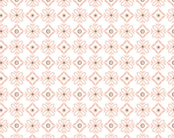 Lattice, peach, 2144703-02, Camelot Fabrics, multiple quantity cut in one piece, 100% Cotton
